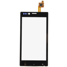 Fancytoy Black Front Touch Screen Digitizer Replacement Parts For Sony Xperia ST26 - Intl