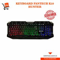 Fantech Keyboard Gaming K10 Hunter - Hitam