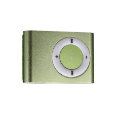 Fashion Design High Quality MP3 Player With USB Date Line (Green)