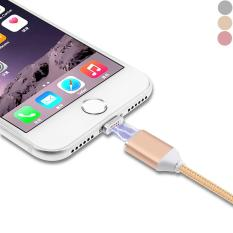 Fast Charge 1M Magnetic Cable Nylon Woven Lightning Super Fast 2.4A Data Transmission For IPhone