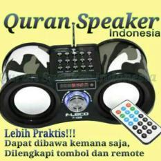 Fleco TMJ Speaker Al Quran 30 Juz Hadist Doa Harian Anak Muslim