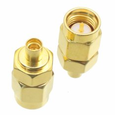 Fliegend 1pce SMA Male Plug To MMCX Female Jack RF Coaxial Adapter Connector