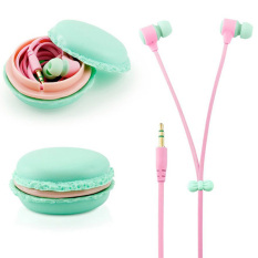 For Mobile Phone MP3 MP4 Tablet PC Laptop 3.5mm Earbud Earphone Headset In-Ear Headphones - Blue
