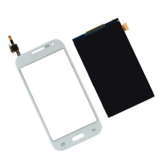 For Samsung Galaxy Core Prime SM-G360F G360 G3608 White Touch Screen Digitizer Glass Sensor + LCD Display Panel Screen - Intl