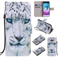 for Samsung Galaxy J3 2016 SM-J310F Case Cover - Classic Fashion Style Wallet Flip Stand PU Leather Phone Case - KT17 - intl