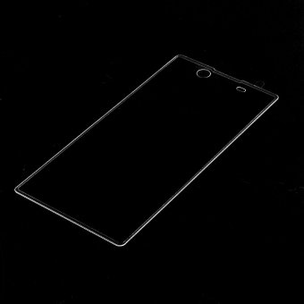 For Sony Xperia XA Ultra Tempered Glass Screen Guard Complete Covering Transparent Intl .
