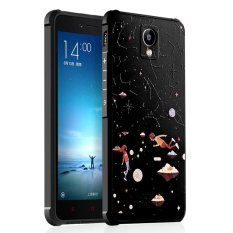 For Xiaomi Redmi Note 3 3D Painting Silicon TPU Anti-fall Airbag Cover Case(