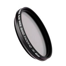 Fotga 46mm Slim Fader Variable ND Filter Adjustable Neutral Density ND2 To ND400