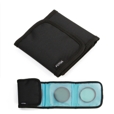 FOTGA 5 In 1 Kit 67mm MC UV And MC CPL And Fader ND Filter And Filter Case And Cleaning Cloth - Intl