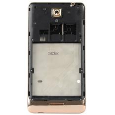 Front Rear Frame Holder Bottom Front Bezel Replacement For LenovoS8 (Gold)