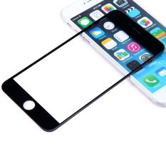 Replacement Front Screen Glass Lens Repair Replacement Kit For IPhone 6 Plus 5.5 Inch (Black)