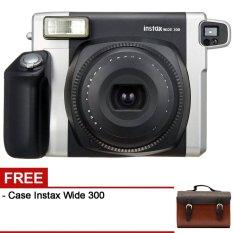 Fujifilm Instax Mini 300 Wide - Hitam + Gratis Case Instax