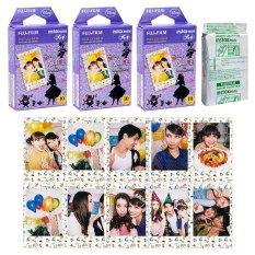 Fujifilm Instax Mini Alice In Wonderland Instant 30 Film For Fuji 7.8 2.50.70 90 / Polaroid 300 Instant Camera / Share SP-1 Printer - INTL