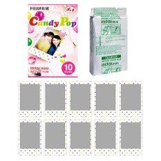 Fujifilm Instax Mini Candy Pop Instant 10 Film For Fuji 7.8 2.50s 7.90 / Polaroid 300 Instant Camera / Share SP-1 Printer (Intl)