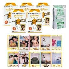 Fujifilm Instax Mini Gudetama Instant 50 Film For Fuji 7.8 2.50s 7.90 / Polaroid 300 Camera / Share SP-1 Printer (Intl)