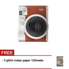 Fujifilm Instax Neo 90 Brown + Gratis Fujifilm Instax Paper 10 Lembar