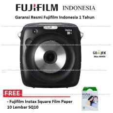 Fujifilm Kamera Instax Square Mini Camera Polaroid Garansi Resmi Indonesia - Hitam