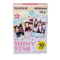 Fujifilm Refill Instax Mini Film Shiny Star - 10 Lembar