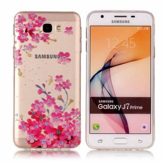 Galaxy J7 Prime Case, Ultra Thin Soft TPU Gel Silicone Protective Back Rear Case Cover