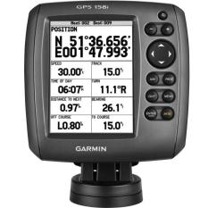 Garmin GPS Kapal Garmin 158 - Hitam
