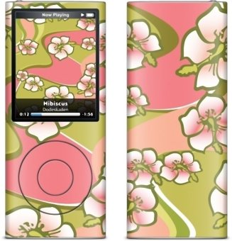 Gelaskins Apple IPod Nano 4 Hibiscus