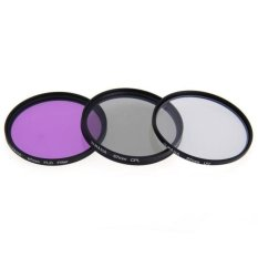 Generic 67mm CPL FLD UV Optical Glass Filter Kit For Canon / Nikon 18-135mm Lens - Intl