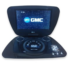"GMC 808U DVD PLAYER PORTABLE + Radio + LCD TV 9"" - Portable DVD Player - 9"" - Hitam"