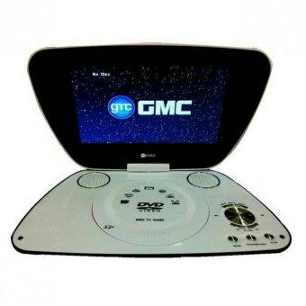 "GMC 808U - DVD TV Portable - 9"" - Hitam"