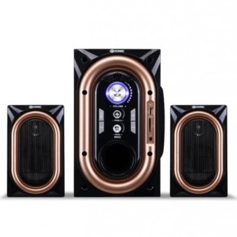 GMC 886C Speaker Multimedia Bluetooth Port USB - Hitam
