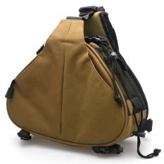 Gosport DSLR / SLR Digital Sling Camera Case Shoulder Bag Backpack For NIKON / CANON / SONY (Khaki) (Intl)