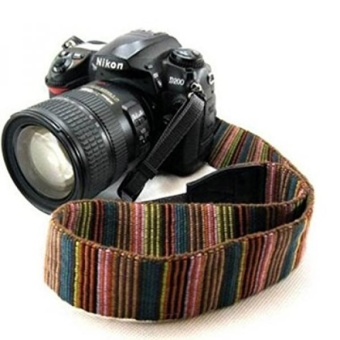 GPL/ Mavota Adjustable Colorful Strape Spot Camera Strap Shoulder Neck Camera Belt For Canon Nikon Olympus Panasonic Pentax Sony Fuji DSLR SLR Mirrorless Camera/ship from USA - intl