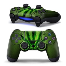 Green Leaf Skin Sticker Case Cover Decal Protector For PS4 Controller - Intl
