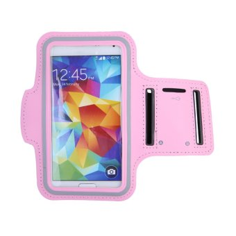 GYM Sports Arm Band Case Holder For Samsung Galaxy S3 S4 S5 (Pink)