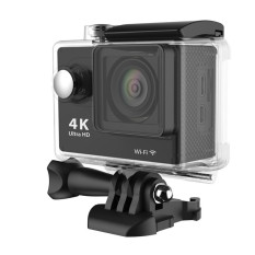 H9 4K Ultra 170 Degree Wide Angle HD1080.60fps 12MP WiFi SportAction Camera DV Diving Waterproof DVR Helmet Video Camcorder -Black - Intl