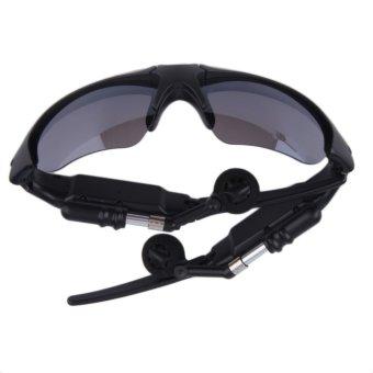 Harga Dan Spesifikasi 360dsc Kacamata Hitam Dengan Bluetooth Source · Handsfree nirkabel Bluetooth 4 1 Headset Stereo Headphone kacamata hitam Hitam