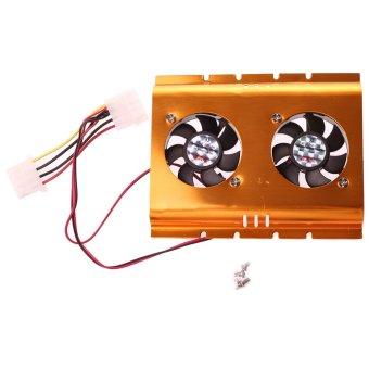 Hard Driver Disk HDD Cooling Fan Desktop Cooler Radiator For Computer Black