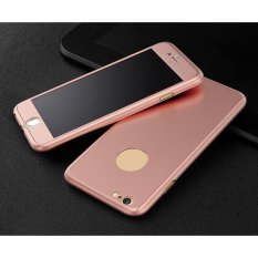 Hardcase 360 Casing Hp Full Body Free Tempered Glass For iPhone 5/5S/5SE