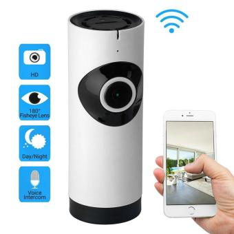 HD Panoramic Wireless IP Camera CCTV 360 Degree - Putih