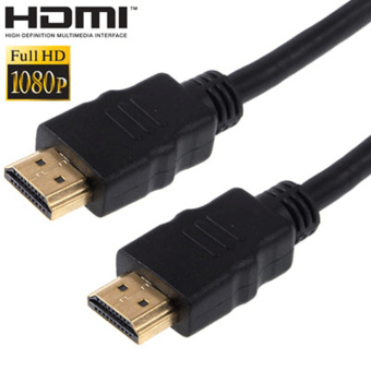 HDMI to HDMI Cable OD7.3mm Gold Plated 4K - 2m - MK02 - Black
