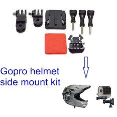 Helm Side Mount Gopro Xiaomi Yi Bpro SjCam Kogan Eken Sport HD