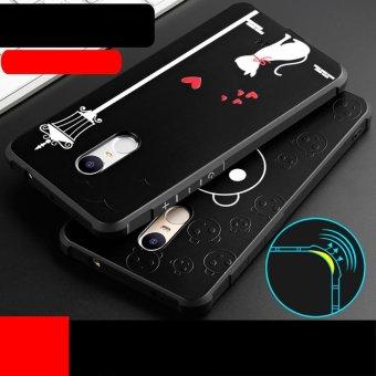Hicase Cute Pattern Slim Fit Soft TPU Case Cover For Xiaomi Redmi Note 4X (Fell