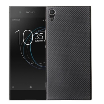 Hicase Ultra Light Slim Shockproof Silicone TPU Protective Case Cover for Sony Xperia XA1 Black - intl