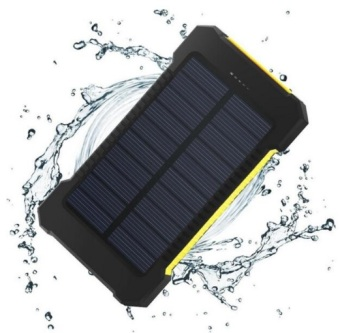 QuincyHome Lampu Emergency Lentera Camping Powerbank Solar Black Source High Quality 10000mah Super