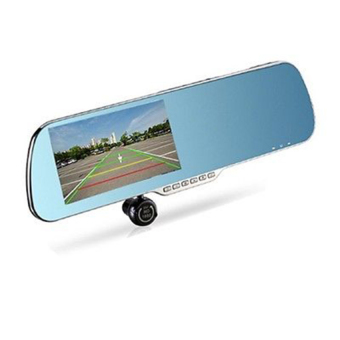 HKS Android Touch Screen Car Dash Cam Dual Lens