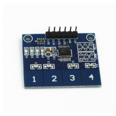 HKS Digital Touch Sensor Module Capacitive Touch Switch Button (Blue) (Intl)