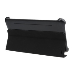 HKS Leather Case Stand Cover with Film Pen and Reel For Samsung Galaxy Tab 4 7 Inch Black (Intl)