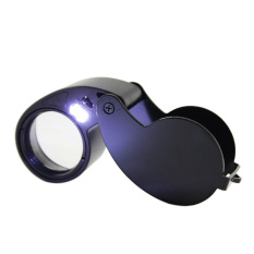 HKS LED Light Magnifier Jeweler Eye 40.25mm Glass (Intl)