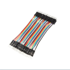 HKS Male To Male Jumper Wire Ribbon Cable Dupont 10CM (Intl)
