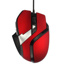 HKS Optical Adjustable Wired Gaming Mouse (Red) (Intl)