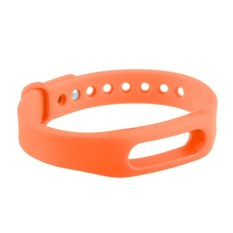 HKS Replacement Wrist Band For Xiaomi Mi Band (Orange) (Intl)